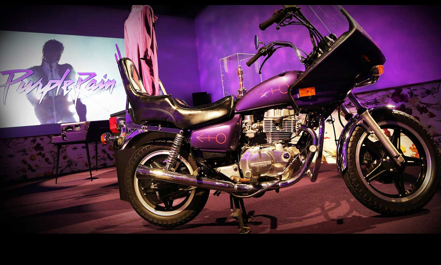 Purple Rain Motorcycle Photo Credit Paisley Park